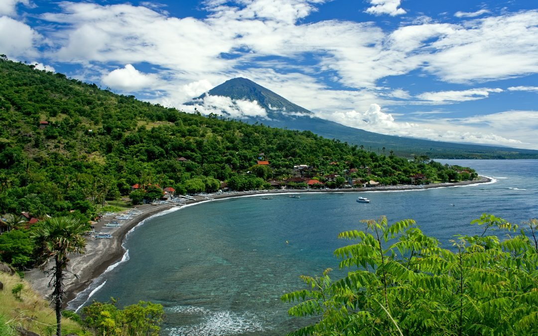 Electrifying [Positive!] Energy Effects of Mt Agung Volcano